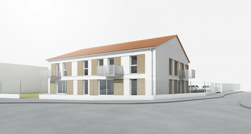 3F - Construction de 6 logements à Genas